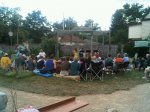 Alcina's Island at the Greater Frogtown CDC garden 9411 St. Paul