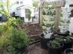 Schrader family garden